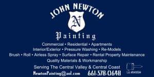 Bakersfield Painting Contractor, Painting Contractor Bakersfield, John Newton